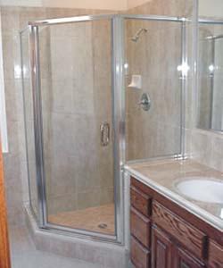 Shower doors portland gresham glass inc for Glass shower doors portland
